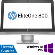 All In One HP EliteOne 800 G2, 23 Inch Full HD, Intel Core i5-6500 3.20GHz, 16GB DDR4, 240GB SSD, Webcam + Windows 10 Pro