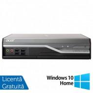 Calculator Acer Veriton L4520G USFF, Intel Core i3-3210 3.20GHz, 4GB DDR3, 500GB SATA + Windows 10 Home