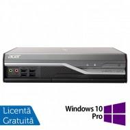 Calculator Acer Veriton L4520G USFF, Intel Core i3-3210 3.20GHz, 4GB DDR3, 500GB SATA + Windows 10 Pro