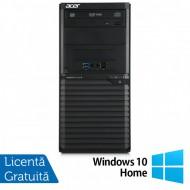 Calculator Acer Veriton M2632 Tower, Intel Core i5-4460S 2.90GHz, 4GB DDR3, 500GB SATA, DVD-RW + Windows 10 Home