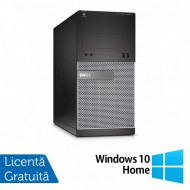 Calculator DELL Optiplex 3020 Tower, Intel Core i7-4770 3.40GHz, 8GB DDR3, 500GB SATA, DVD-RW + Windows 10 Home