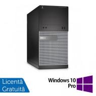 Calculator DELL Optiplex 3020 Tower, Intel Core i7-4770 3.40GHz, 8GB DDR3, 500GB SATA, DVD-RW + Windows 10 Pro