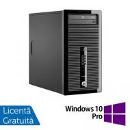 Calculator HP 400 G2 Tower, Intel Core i5-4570 3.20GHz, 4GB DDR3, 500GB SATA, DVD-ROM + Windows 10 Pro