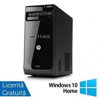 Calculator HP Pro 3500 Tower, Intel Core i5-3470 3.20GHz, 8GB DDR3, 500GB SATA, DVD-RW + Windows 10 Home