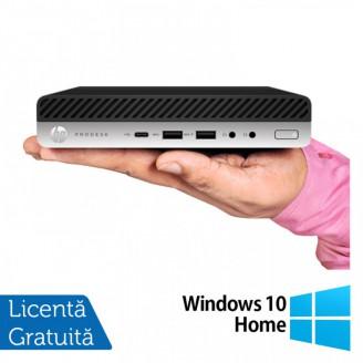 Calculator HP ProDesk 800 G4 Mini PC, Intel Core i5-8500T 2.10GHz, 16GB DDR4, 240GB SSD + Windows 10 Home