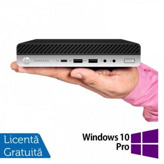 Calculator HP ProDesk 800 G4 Mini PC, Intel Core i5-8500T 2.10GHz, 16GB DDR4, 120GB SSD + Windows 10 Pro