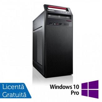Calculator LENOVO ThinkCentre E73 Tower, Intel Core i5-4460s 2.90GHz, 8GB DDR3, 500GB SATA, DVD-RW + Windows 10 Pro