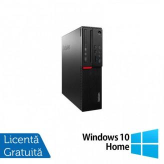 Calculator LENOVO M700 SFF, Intel Core i3-6100 3.70GHz, 8GB DDR4, 120GB SSD + Windows 10 Home
