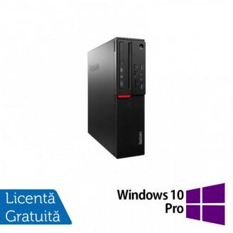 Calculator LENOVO M700 SFF, Intel Core i3-6100 3.70GHz, 8GB DDR4, 120GB SSD + Windows 10 Pro