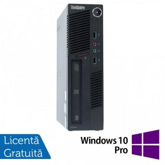 Calculator Lenovo ThinkCentre M90 USDT, Intel Core i3-550 3.20GHz, 4GB DDR3, 160GB SATA, DVD-ROM + Windows 10 Pro