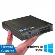 Calculator Lenovo ThinkCentre M93 Mini PC, Intel Core i7-4785T 2.20GHz, 4GB DDR3, 500GB SATA + Windows 10 Home