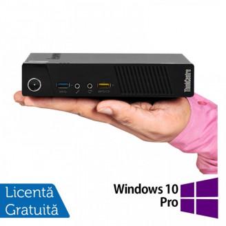 Calculator Lenovo Thinkcentre M83p Mini PC, Intel Core i5-4570T 2.90GHz, 8GB DDR3, 120GB SSD + Windows 10 Pro