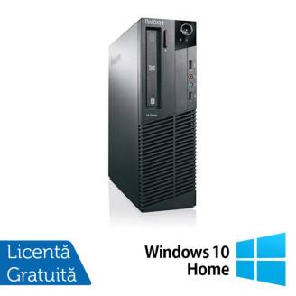 Calculator Lenovo Thinkcentre M83 SFF, Intel Pentium G3220 3.00GHz, 4GB DDR3, 500GB SATA + Windows 10 Home