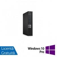 Calculator DELL OptiPlex 7050 Mini PC, Intel Core i5-7500T 2.70GHz, 8GB DDR4, 240GB SSD + Windows 10 Pro