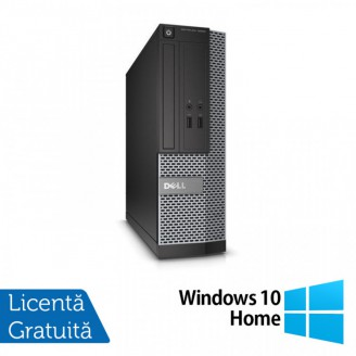 Calculator DELL Optiplex 3020 SFF, Intel Pentium G3220 3.00GHz, 4GB DDR3, 500GB SATA + Windows 10 Home