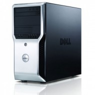 Workstation Dell Precision T1500, Intel Dual Core i3-540 3.06GHz, 8GB DDR3, 500GB HDD, nVidia GT605/1GB, DVD-ROM