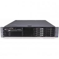 Server Dell PowerEdge R710, 2x Intel Xeon Hexa Core X5675 3.06 - 3.46GHz, 16GB DDR3 ECC, 2 x 146GB SAS - 2.5 Inch, Raid Perc SAS6i, Idrac 6 Enterprise, 2 surse redundante