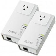 Kit adaptor PowerLine ZyXEL PLA407 HomePlug, 200 Mbps