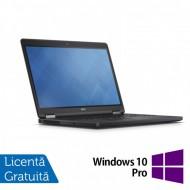 Laptop DELL Latitude E5250, Intel Core i5-5300U 2.30GHz, 8GB DDR3, 120GB SSD, 12.5 Inch, Webcam + Windows 10 Pro