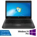 Laptop HP ProBook 6470b, Intel Core i5-3320M 2.60GHz, 4GB DDR3, 120GB SSD, DVD-RW, 14 Inch, Webcam + Windows 10 Pro