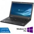 Laptop Lenovo ThinkPad T430s, Intel Core i5-3210M 2.50GHz, 4GB DDR3, 120GB SSD, DVD-RW, 14 Inch, Webcam + Windows 10 Pro