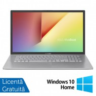 Laptop Nou Asus VivoBook M712DA-WH34, AMD Ryzen 3 3250U 2.60-3.50GHz, 8GB DDR4, 256GB SSD, 17.3 Inch Full HD, Bluetooth, Webcam, Tastatura Numerica + Windows 10 Home
