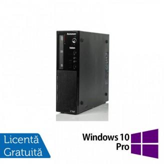 Calculator Lenovo Thinkcentre E73 SFF, Intel Core i5-4460S 2.90GHz, 4GB DDR3, 500GB SATA, DVD-RW + Windows 10 Pro