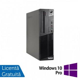 Calculator LENOVO Thinkcentre M72E Desktop, Intel Core I5-3470 3.20GHz, 4GB DDR3, 250GB SATA, DVD-RW + Windows 10 Pro