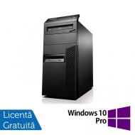 Calculator Lenovo Thinkcentre M93 Tower, Intel Pentium G3220 3.00GHz, 4GB DDR3, 250GB SATA + Windows 10 Pro