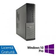 Calculator DELL OptiPlex 3010 Desktop, Intel Pentium G2030 3.00GHz, 4GB DDR3, 250GB SATA + Windows 10 Pro