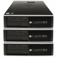 Pachet 3x Calculator HP 6005 SFF, AMD Athlon II x2 215 2.70GHz, 4GB DDR3, 250GB SATA, DVD-RW