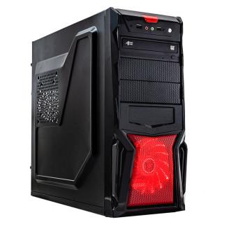 Sistem PC, Intel Core i3-2100 3.10GHz, 4GB DDR3, 240GB SSD + 1TB SATA, DVD-RW, CADOU Tastatura + Mouse