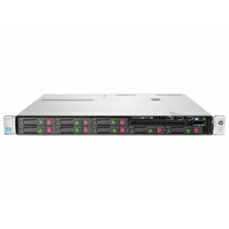 Server HP ProLiant DL360e G8, 1U, 2x Intel Octa Core Xeon E5-2450L 1.8 GHz-2.3GHz, 48GB DDR3 ECC Reg, 2x SSD 240GB SATA + 2x 900GB SAS/10k, Raid Controller HP SmartArray P420/1GB, iLO 4 Advanced, 2x Surse HOT SWAP