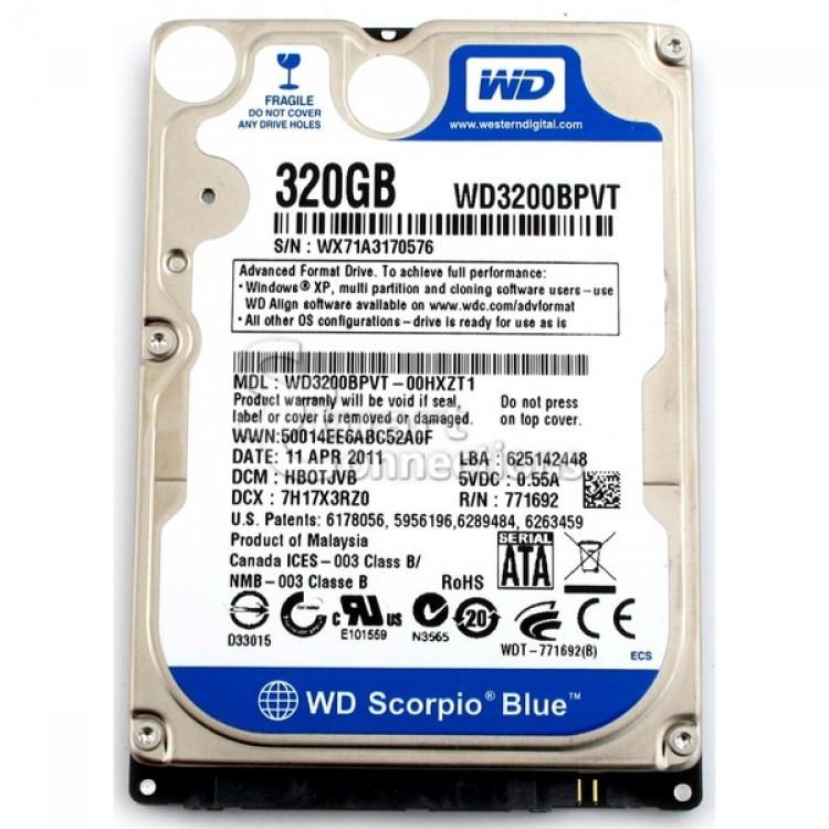 Imagine indisponibila pentru HDD Laptop 320GB SATA, 2.5 inch, Diverse Modele
