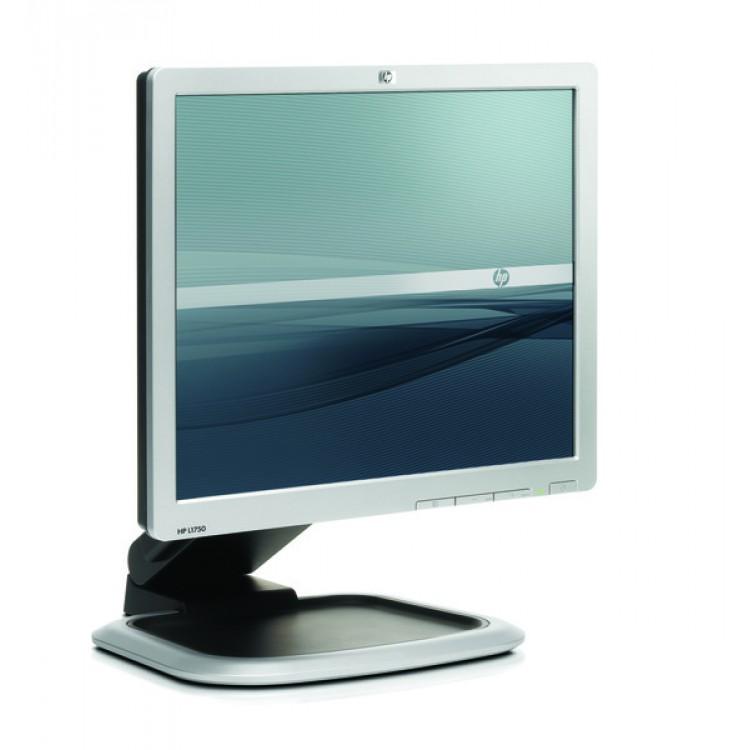 Monitor HP L1750, LCD, 17 inch, 1280 x 1024, 5 ms, VGA, 16.7 milioane culori