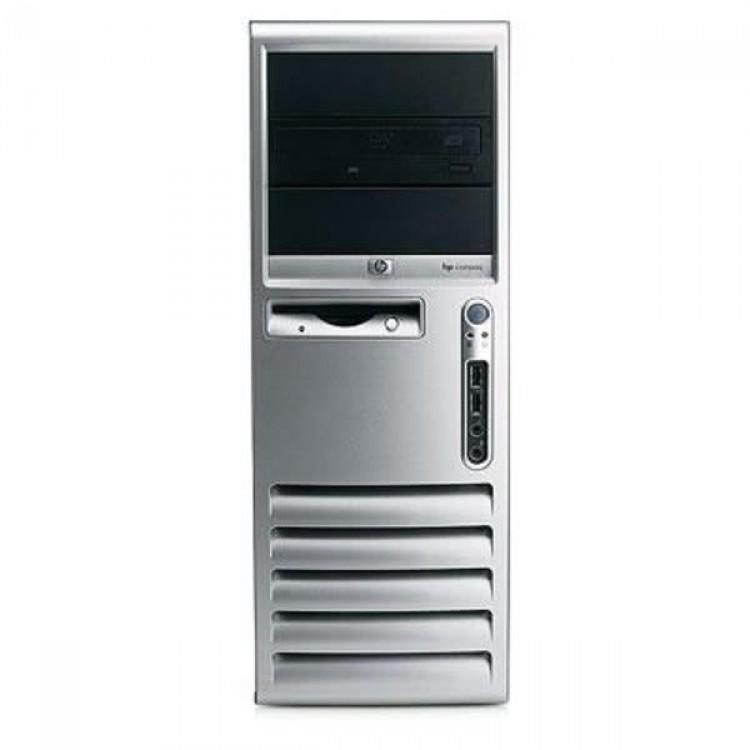 Calculator HP Compaq DC7700, Intel Dual Core E6300, 1.86 GHz, 2 GB DDR2, 80GB SATA, DVD-RW