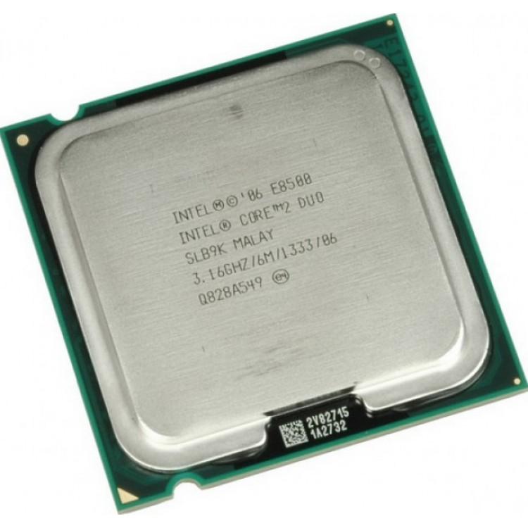 procesor intel core2 duo e8500, 3.16ghz, 6mb cache, 1333 mhz fsb