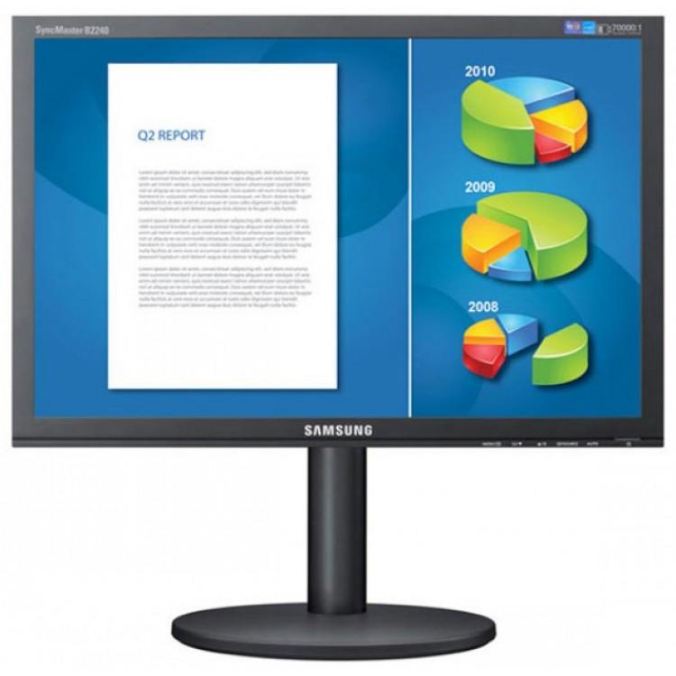Monitor Samsung B2440, 24 Inch, 1920 x 1080, VGA, DVI, Full HD, 70000:1