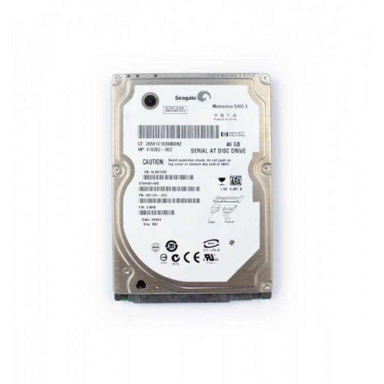 HDD Laptop 40GB SATA, 2,5 inch, Diverse Modele