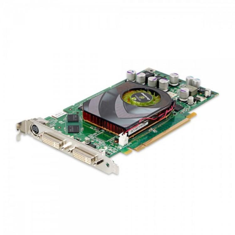placa video pci-e nvidia quadro fx1500 256mb gddr3 256-bit 2xdvi, high profile