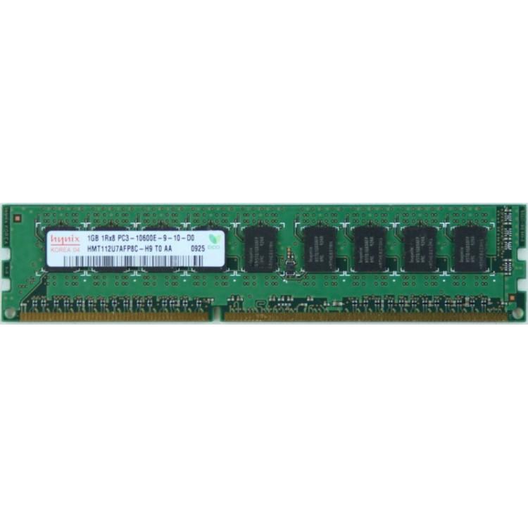 Imagine indisponibila pentru Memorie 1GB DDR3-1333 PC3-10600E 1Rx8 1.5V ECC UDIMM
