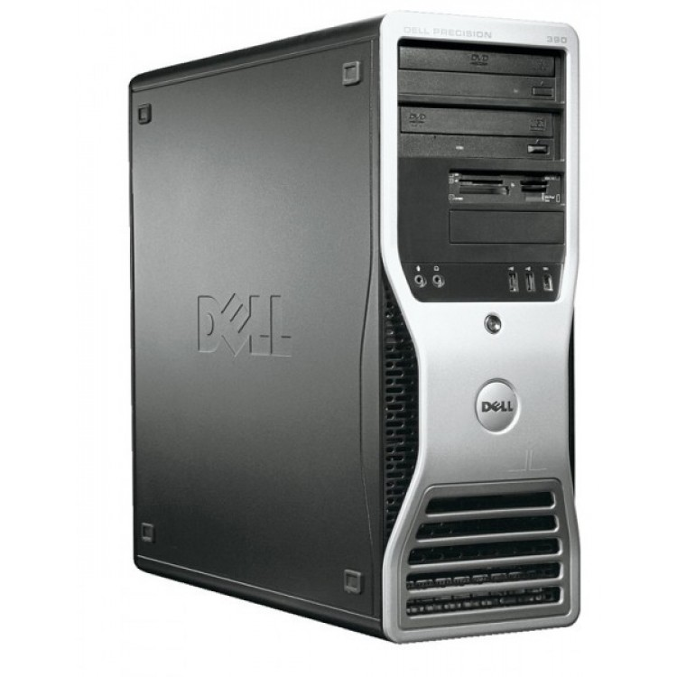 Workstation DELL Precision 390, Intel Core 2 Duo E6300 1.86GHz, 2GB DDR2, 160GB SATA, ATI FIRE GL V3400 128 MB