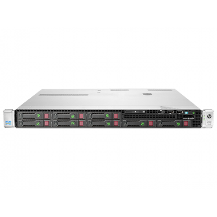 server hp proliant dl360e g8, 1u, 2x intel octa core xeon e5-2450l 1.8 ghz-2.3ghz, 72gb ddr3 ecc reg, 4x 600gb sas/10k, raid controller hp smartarray p420/1gb, ilo 4 advanced, 2x surse hs
