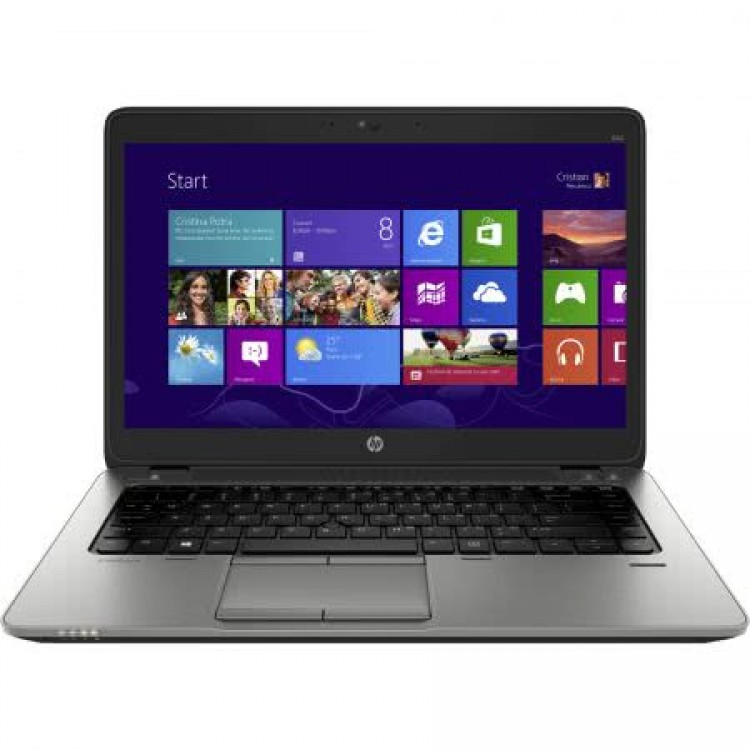 laptop hp elitebook 840 g2, intel core i5-5200u 2.20ghz, 8gb ddr3, 128gb ssd, hd