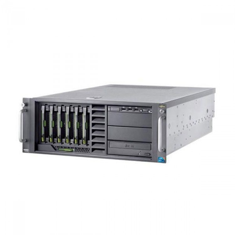 Server FUJITSU Primergy TX300 S6, Rack-mountable, 1x Intel Xeon E5620 2.40 GHz, 24GB DDR3, 2x 300GB SAS, DVD-ROM, 2x Surse Redundante