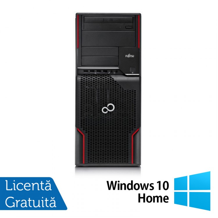 Workstation FUJITSU CELSIUS W510, Intel Core i5-2400S 2.5GHz - 3.3GHz, 4GB DDR3, 250 GB HDD, DVD-ROM + Windows 10 Home