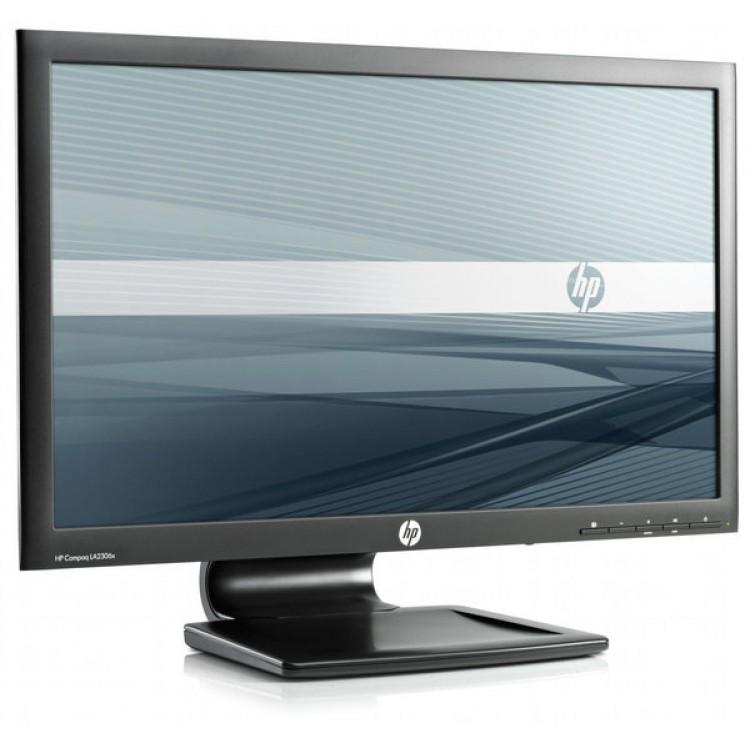 Monitor HP Compaq LA2306X, 23 Inch, 1920 x 1080, VGA, DVI, DisplayPort, USB, FULL HD, Grad A-
