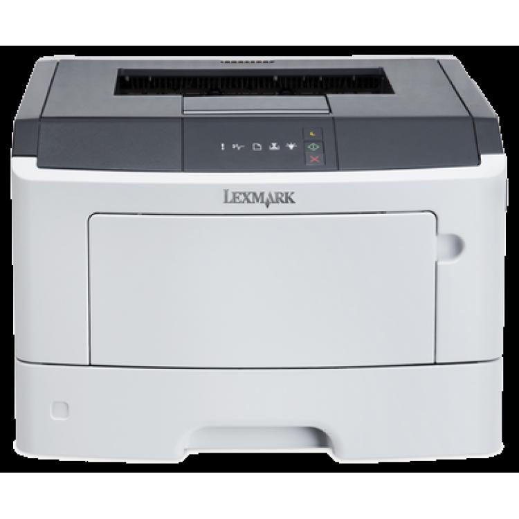 Imprimanta LEXMARK MS-310ND, 35 PPM, Duplex, Retea, Parallel, USB, 1200 x 1200, Laser, Monocrom, A4, Toner Low