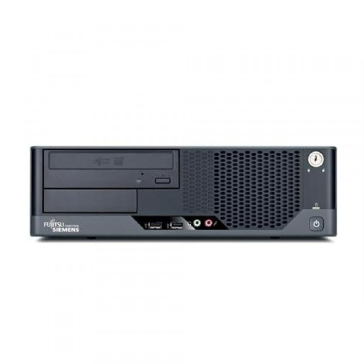 calculator fujitsu siemens esprimo e7935 sff, intel core 2 duo e7300 2.66 ghz, 4 gb ddr2, 250gb sata, dvd-rom