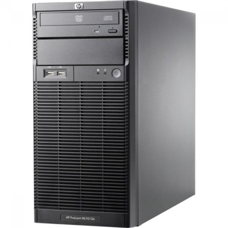 Imagine indisponibila pentru Server HP ProLiant ML110 G6 Tower, Intel Xeon Quad Core X3430 2.40GHz, 8GB DDR3, 2 x 1TB SATA, DVD-ROM, PSU 300W